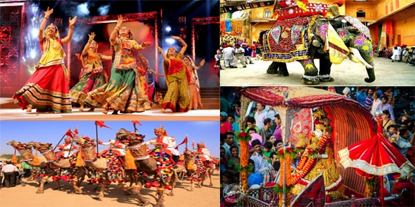 Colorful Festivals of Rajasthan