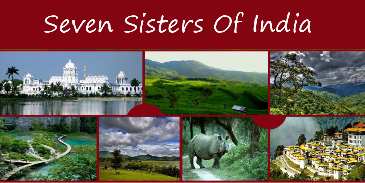 Explore Seven Sisters of India